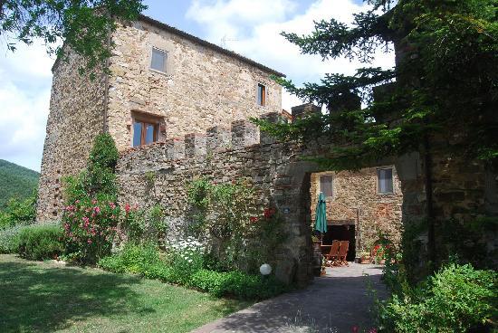 Monte Poni: Front of the Villa