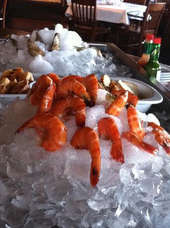 Alice Fazooli's : Shrimps and Oysters