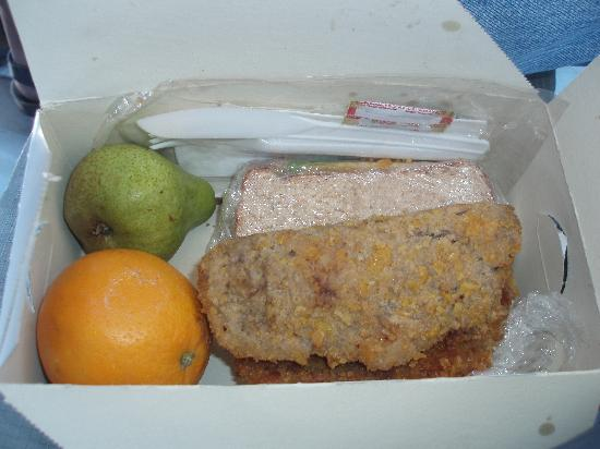 Epacha Game Lodge and Spa: Magnificent lunch box - fit for a beggar