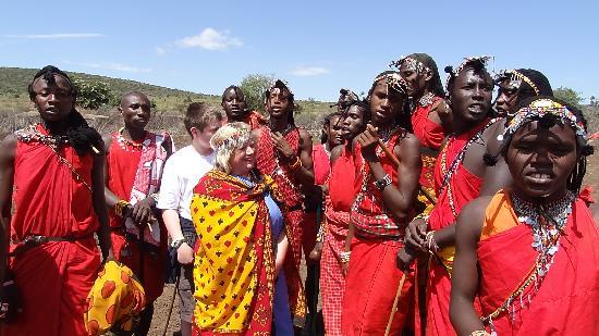Natural World Kenya Safaris: Our new Masai friends