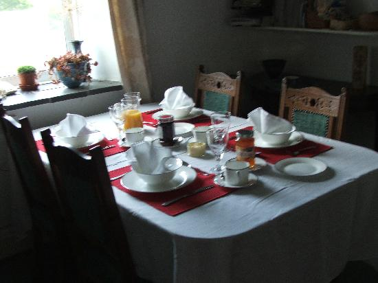 Siramik: Our breakfast room