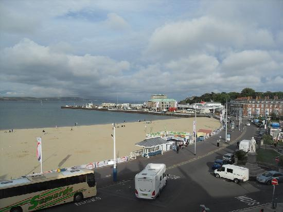 Bay View Hotel Weymouth: View from Room 10