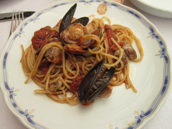 Ristorante Al Pozzo: Spaghetti alla Marinara...