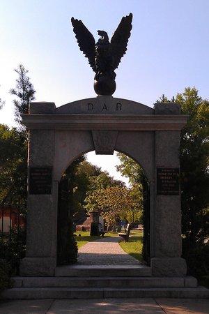 Bonaventure Cemetery Journeys w/ Shannon Scott: The cemetary entrance during day light.