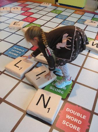 Mississippi Children's Museum: Scrabble, anyone?