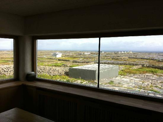 Inis Meain Restaurant & Suites: Ausblick vom Appartement