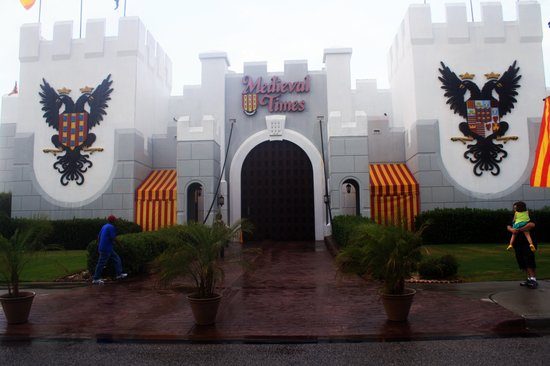 Myrtle Beach, SC: Entrance to castle
