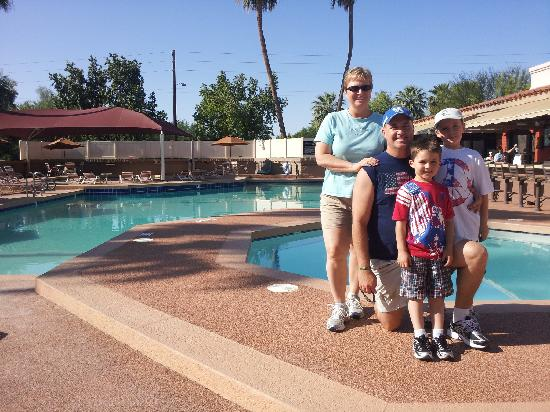 Scottsdale Camelback Resort: The pools and hot tub