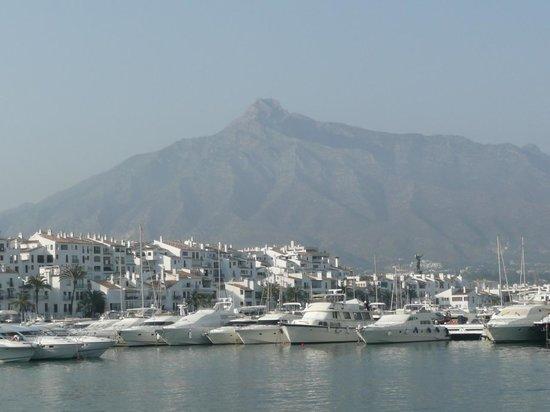 Puerto Jose Banus, Spanien: linda vista!