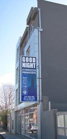 Good Night: Entrance, Exterior