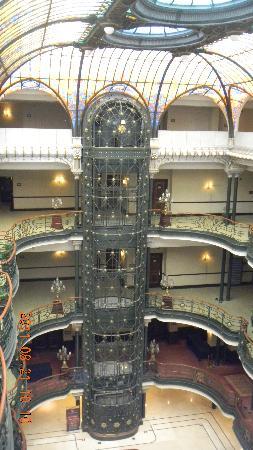 Gran Hotel Ciudad de Mexico: Elevador Antiguo precioso!!!!