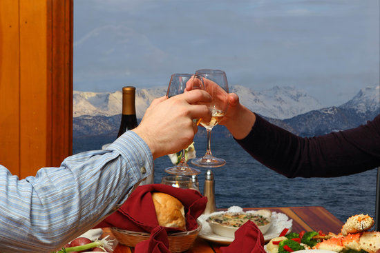 The Chart Room Restaurant : Dine while you enjoy breathtaking views