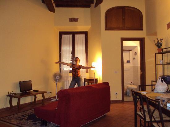 Hotel Dali: Appartement - Salon 1