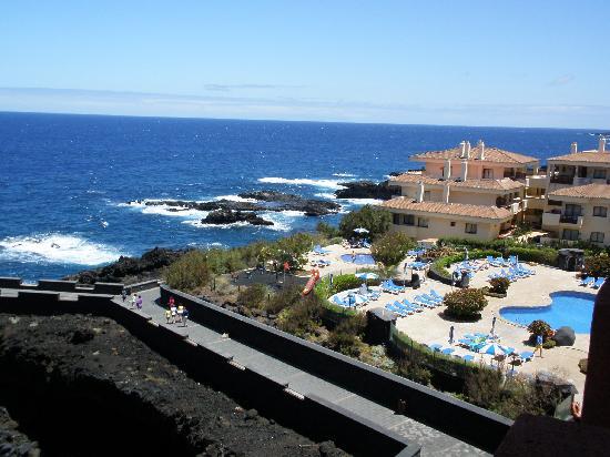 โรงแรมโอตาซ่า ตาบูเรียนเต้ ปลาย่า: La zona de piscinas desde la habitación