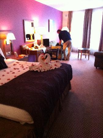 Great National Ballykisteen Golf Hotel: Lovely surprise on arrival