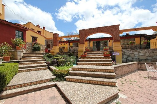 Hotel Villa de la Plata: Entrada