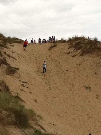 Morriscastle Strand Caravan Park: get fit on the hill