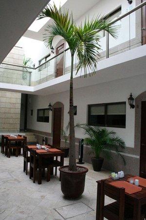 Hotel Casa Continental: El pequeño restaurante