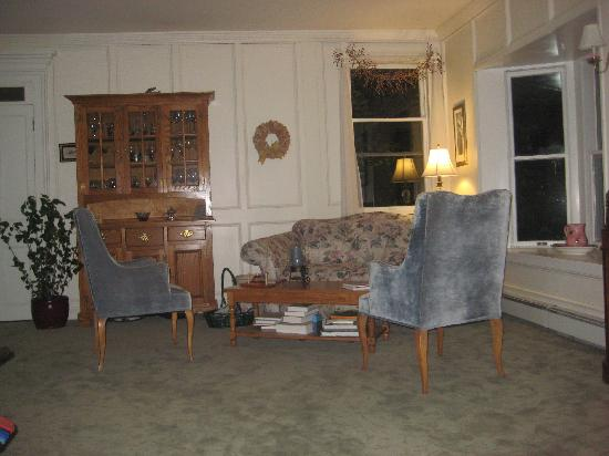 Ellis House: One of the sitting areas in the Living Room