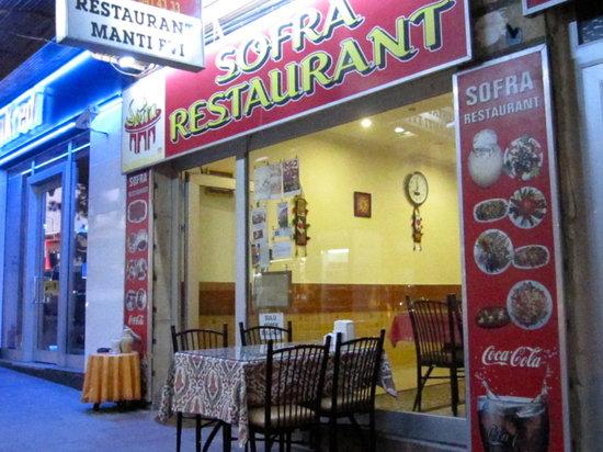 Sofra Restaurant : facade