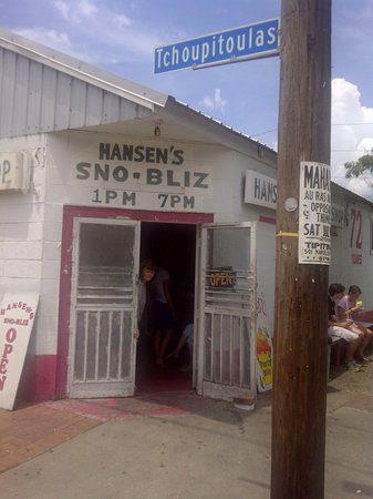 Photo of Restaurant Hansen's Sno-Bliz at 4801 Tchoupitoulas St, New Orleans, LA 70115, United States