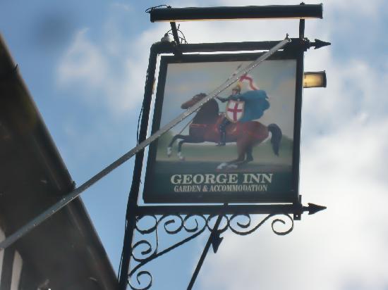 George Inn: Nameboard
