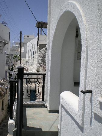 Kontaratos Studios & Apartments: View from balcony