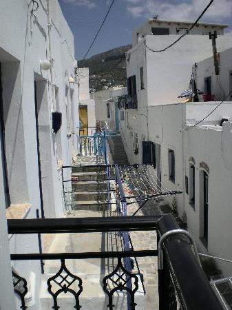 Kontaratos Houses Studios & Apartments: View from balcony