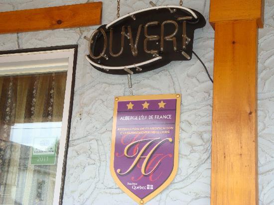 Auberge l'île de France : Quality service