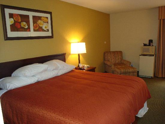 Country Inn & Suites By Carlson, Greenfield : King bed