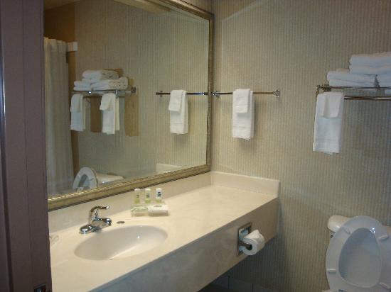 Country Inn & Suites By Carlson, Greenfield : bathroom vanity