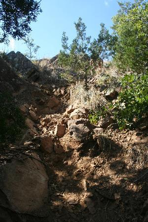 Turner Falls Park : Rock Climbing