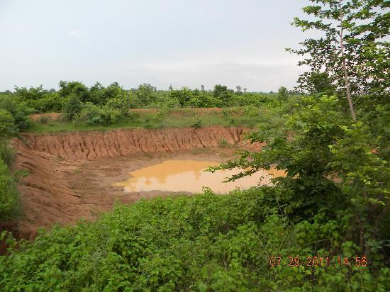 Man made pond inside 130 acres near Kolara gate of Tadoba Tiger