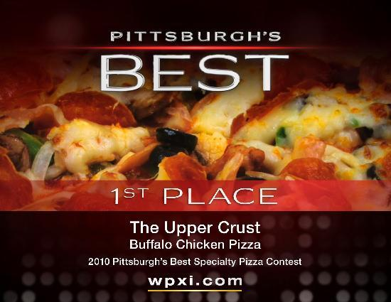 Upper Crust Pizza: Voted Best Specialty Pizza!