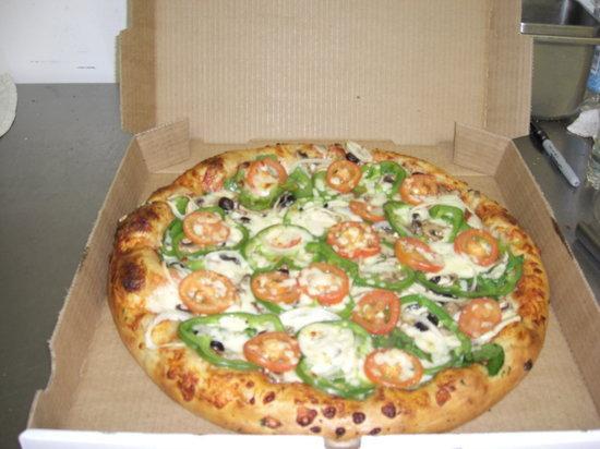 Upper Crust Pizza: Veggie Pizza!