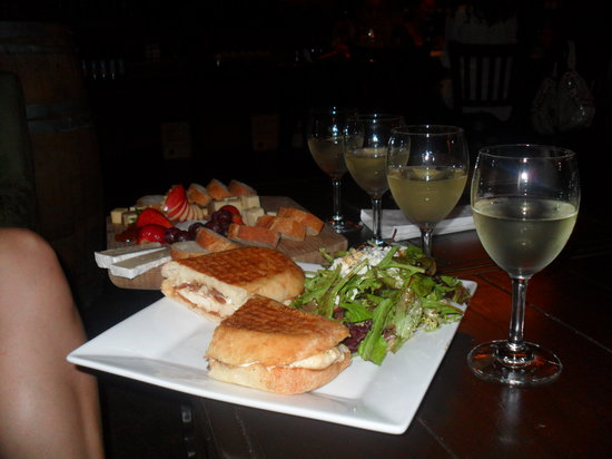 Jake's on 6th Wine Bar: Look at our spread!