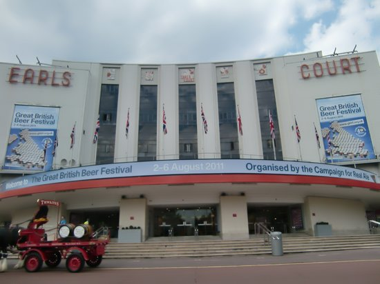 ‪Earls Court Exhibition Center‬