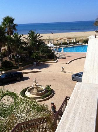 Villa Romana Hotel: dal balcone