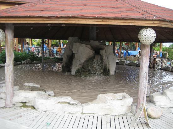 Tianyuan Onsen Resort: 泥湯もあり