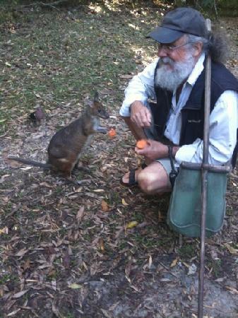 Australian Natural History Safari: David in action