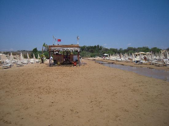 Baia Samuele Hotel Villaggio: Spiaggia