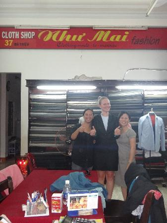 Nhu Mai Fashion : fantastic tailors and good fun too.