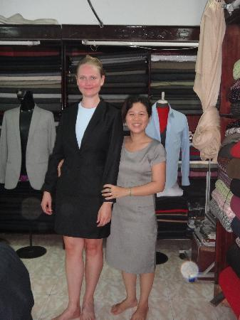 Nhu Mai Fashion : A great litle tailor in Hoi An