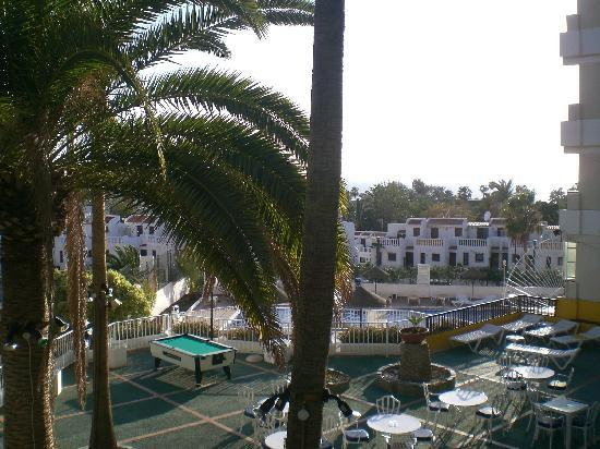 Paradero Hotel: la veranda
