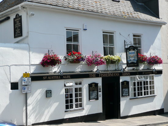 The Fishermans Arms: One of the oldest buildings in Plymouth, inside is one of the last remaining remnants of the ori
