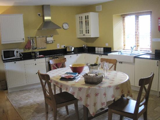 Decoy Country Cottages: kitchen area
