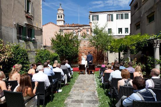 San Sebastiano Garden Hotel: Wedding ceremony