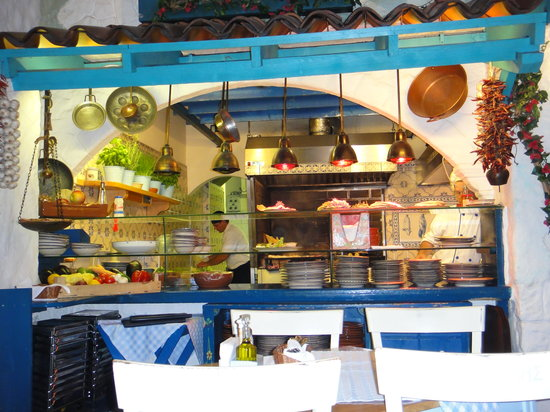 Taverna Dionysos : La cuisine