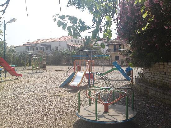 Corfu, Greece: the kids park in town