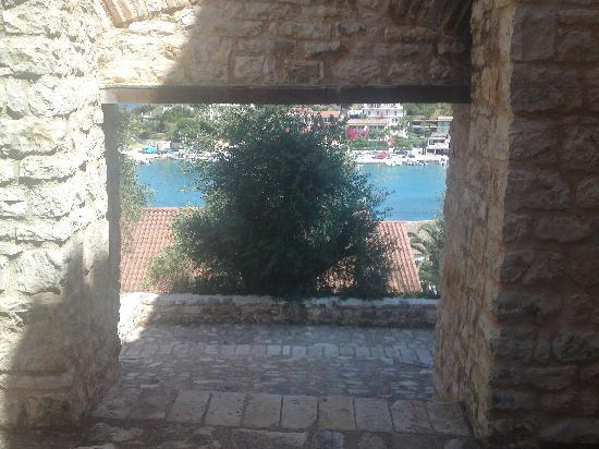 Kassiopi: view from the old fort